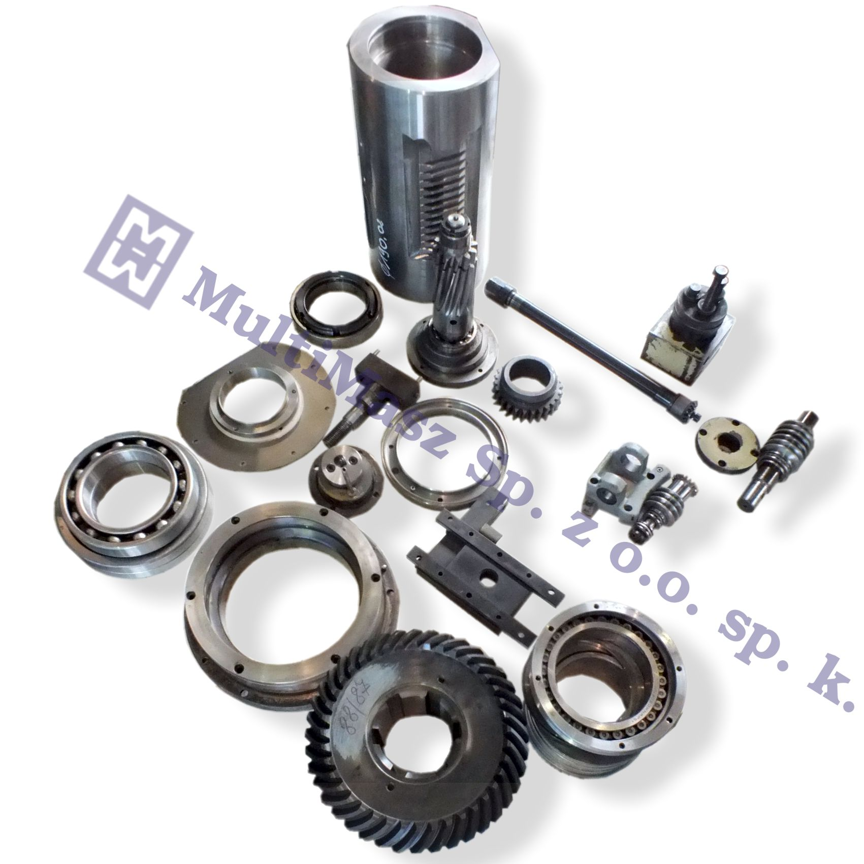 SPARE PARTS FOR MACHINE TOOLS - Clutches and brakes